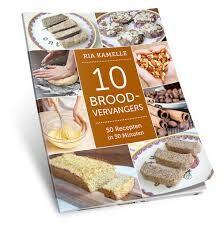 10 gezonde broodvervangers - 50 recepten in 30 minuten