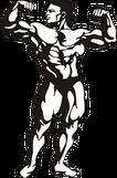 bodybuilder spiermassa kennisbank