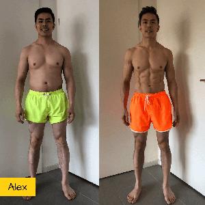 resultaat droog trainen protocol alex
