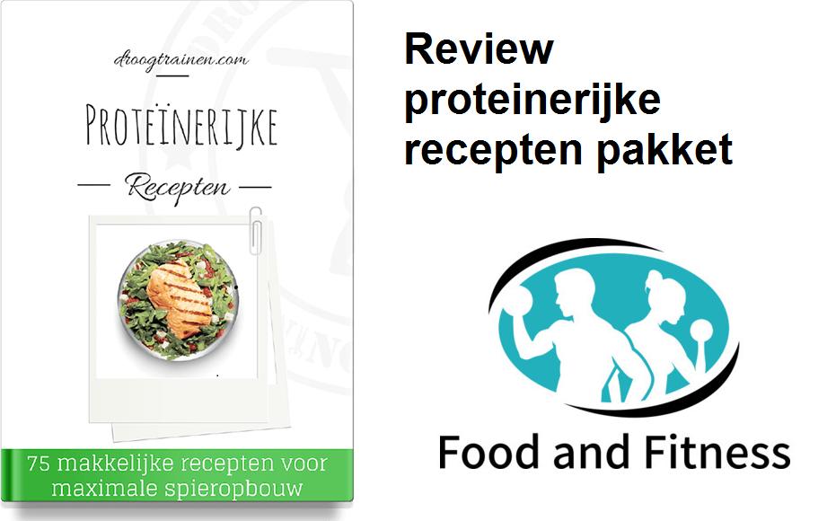 proteinerijk recepten pakket eigen cover