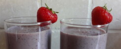 Fruit smoothie deluxe